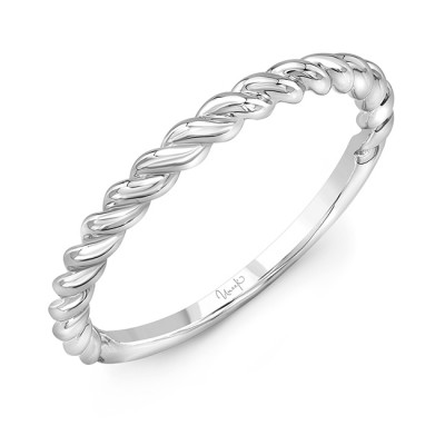 """Uneek """"Doheny"""" Stackable Band (Yellow Gold version)"""
