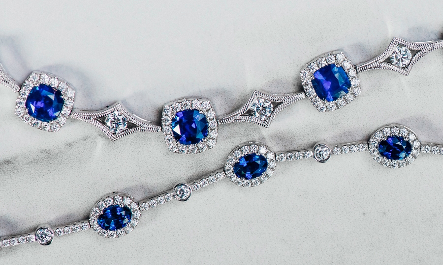 Royal Blue Collection - Jewelry Featuring Breathtaking Sapphires