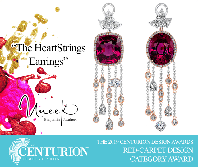Centurion 2019 Awards HeartStrings Earrings